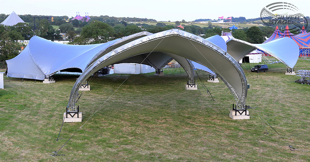 A Titan of the Tent World ... & Multispan Event Structure - Modular multispan tents u0026 marquees